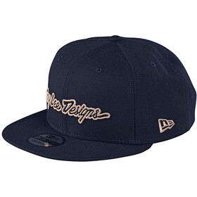 Troy Lee Designs Signature Snapback Hat, navy